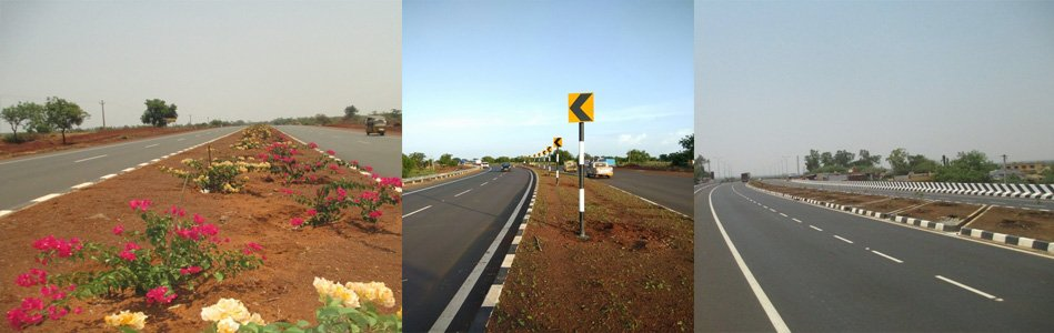 4 Laning MH-KNT Border-Sangareddy